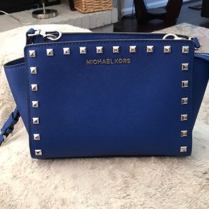 Michael Kors Selma / blue bag